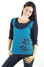 Tričko ZESTA, 100% bavlna, ruční práce Nepál