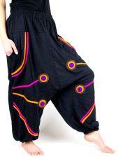 Turecké kalhoty  BEATLETRANS, úpletová bavlna Nepál
