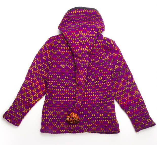 Vlněná bunda s fleesovou podšívkou a odepínatelnou kapucí NT0032 00 004
